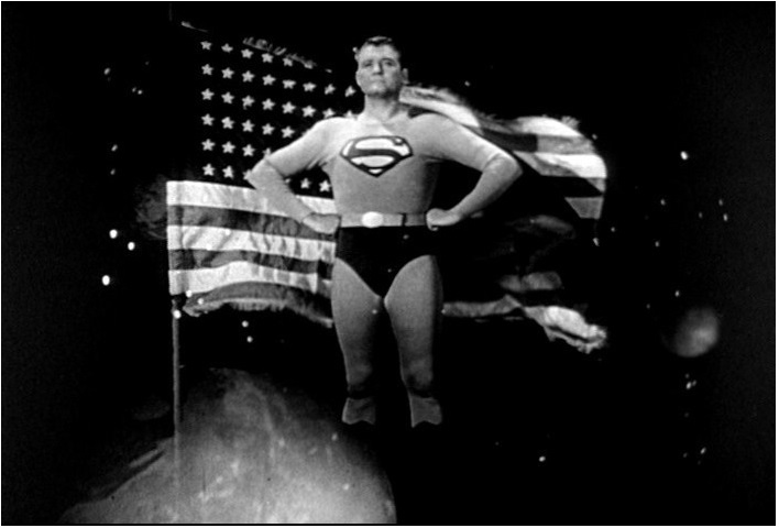 Image result for images of tv show adventures of superman