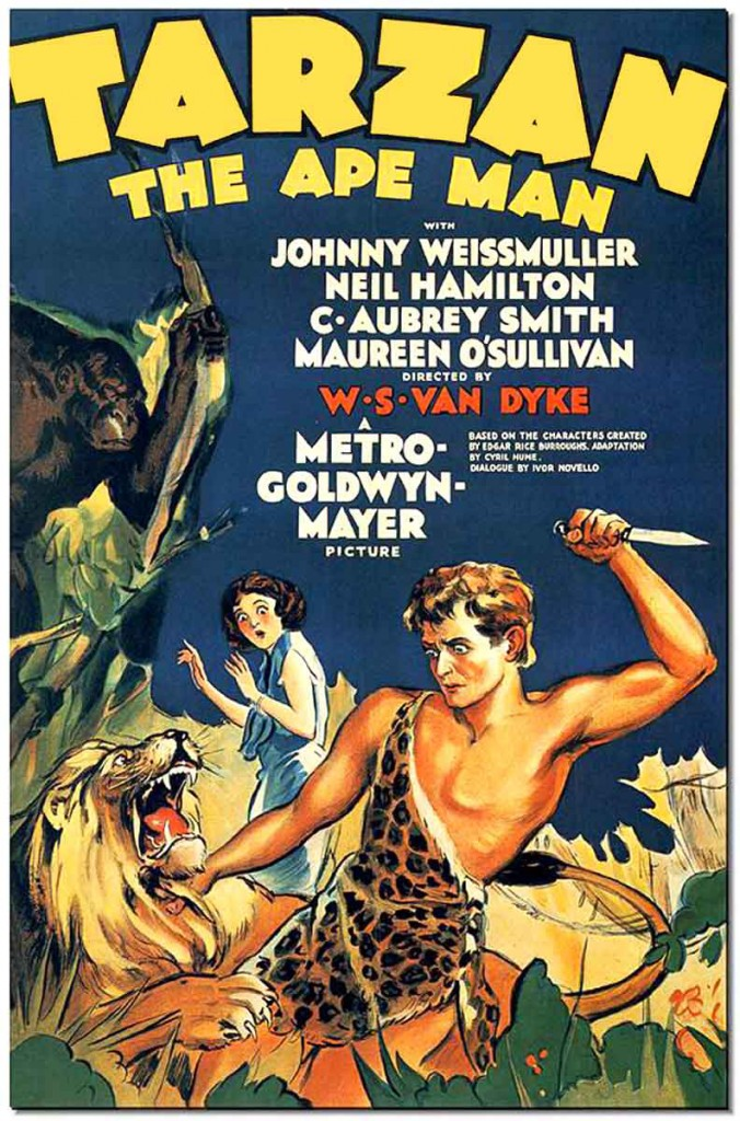 Poster - Tarzan the Ape Man (1932)_01