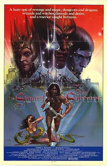 Sword and the Sorcerer poster 1