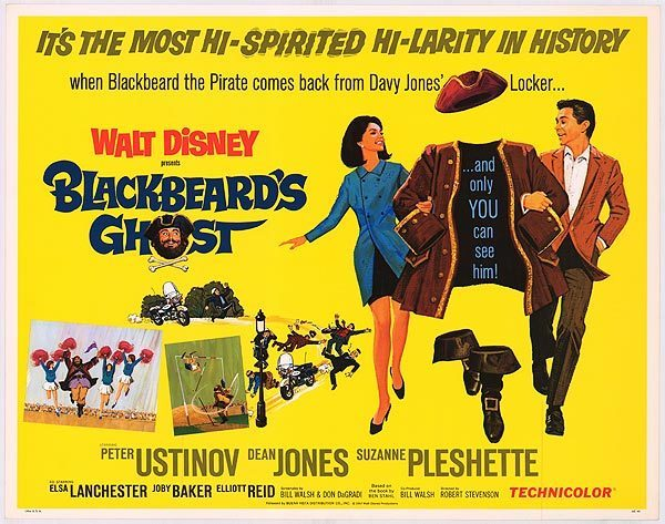 blackbeards ghost poster