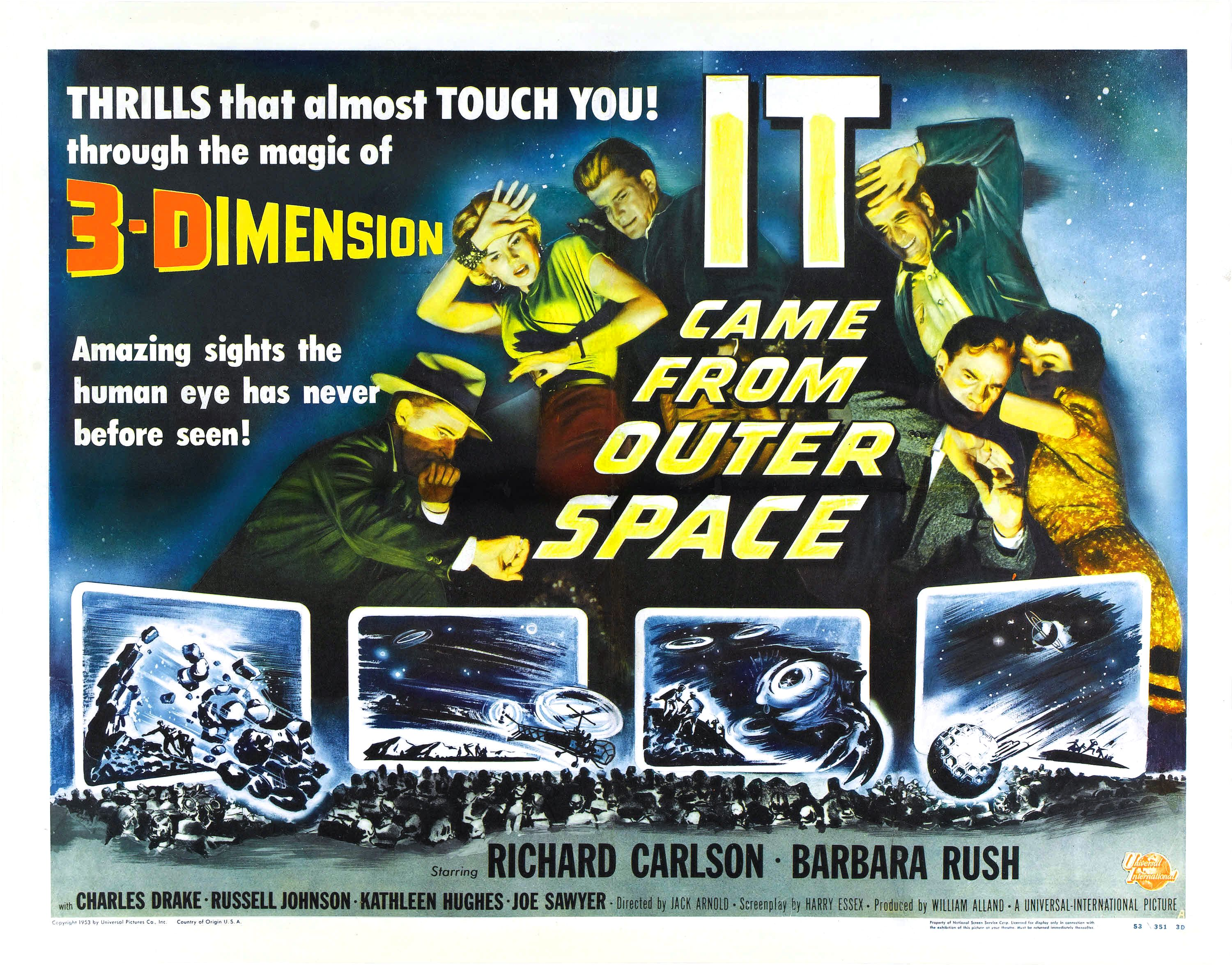 It came from outer space 1953 review mana pop for The thing that came from outer space