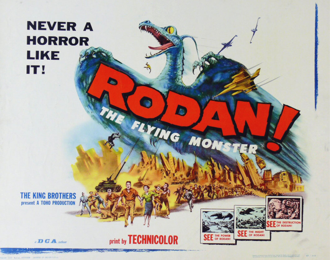 Image result for rodan 1956 scary