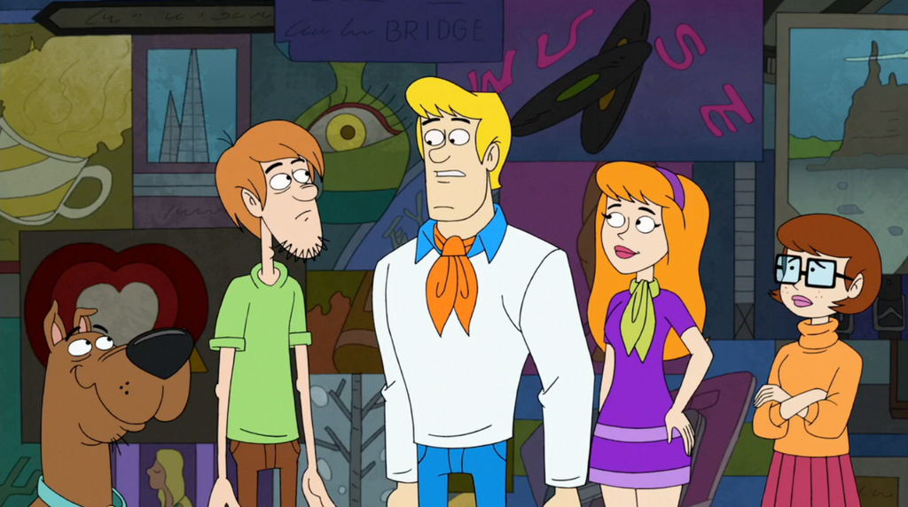 Scooby doo the movie characters