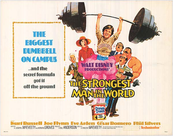 Mike's Movie Cave: The Strongest Man in the World (1975) – Review